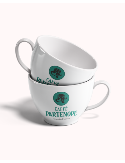 Tazze Cappuccino con Logo Partenope