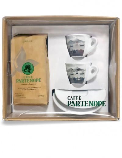 Set Tazzine B/N + Caffè Macinato