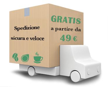 Spedizione gratuita per ordini di almeno 50 €